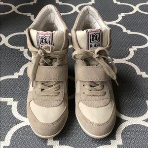 Ash sneaker wedges in size 37